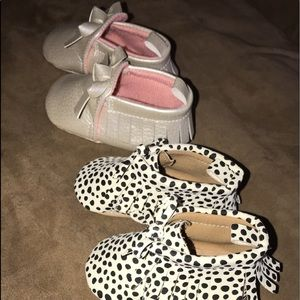 Baby Girl Moccasin Shoes